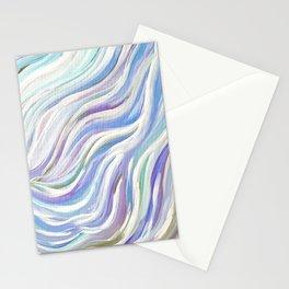 Swirly, Blue & Purple  Stationery Cards