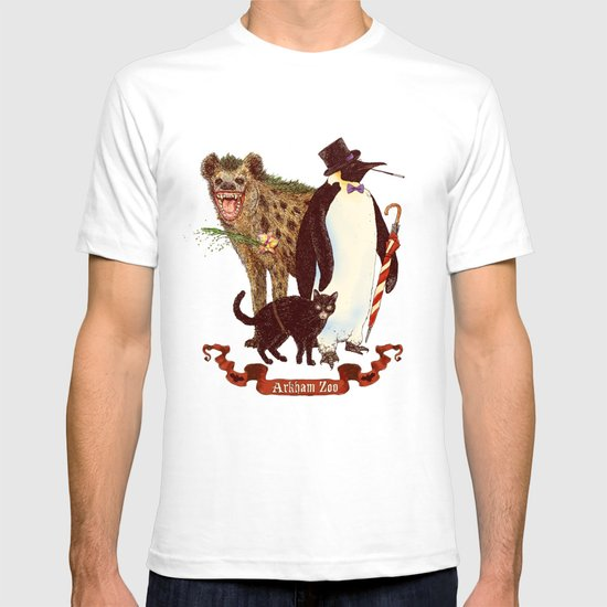 At the Arkham Zoo T-shirt