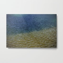 Water Rainbow Metal Print