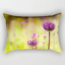 Onion Field Rectangular Pillow