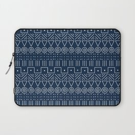 Mudcloth Style 1 in Navy Laptop Sleeve