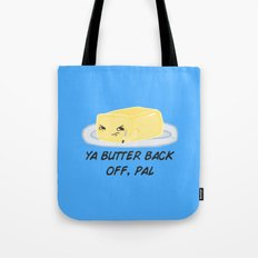 Sour food puns - Butter Tote Bag