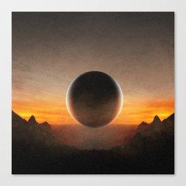VANTABLK Canvas Print