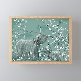 Year of the OX Framed Mini Art Print