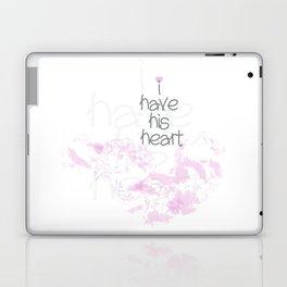 I have his heart Laptop & iPad Skin