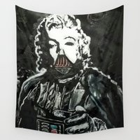 death star Wall Tapestries featuring Death Star by Matt Pecson