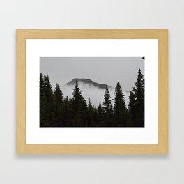 West Peak Framed Art Print