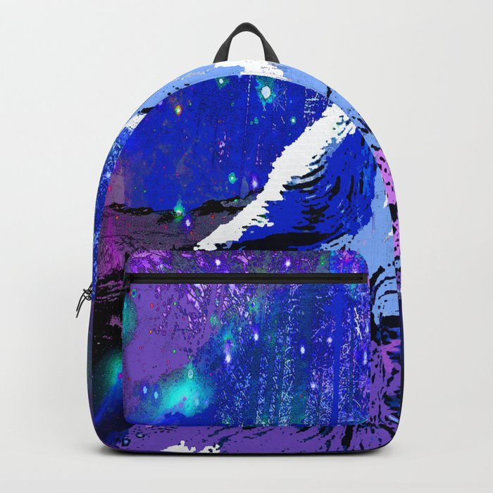 WOLF MOON AND SHOOTING STARS Backpack