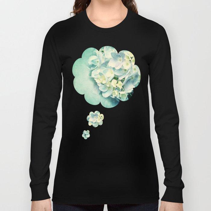 MINT HYDRANGEA Long Sleeve T-shirt