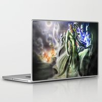 army Laptop & iPad Skins featuring Golgalak Army by NeverSurrender