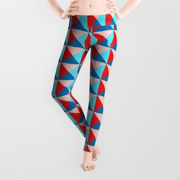 Abstract Triangle Pattern - Colorway #3 Leggings