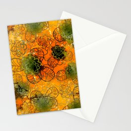 floral mix Stationery Cards
