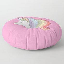 Unicorn Rainbow Floor Pillow
