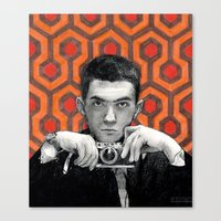 kubrick Canvas Prints featuring Kubrick by Bethany Duvall