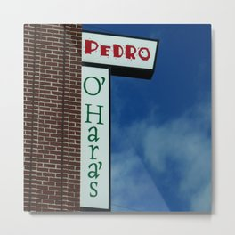 Irish Pedro Metal Print