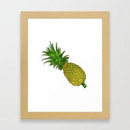 Pi the pineapple Framed Art Print