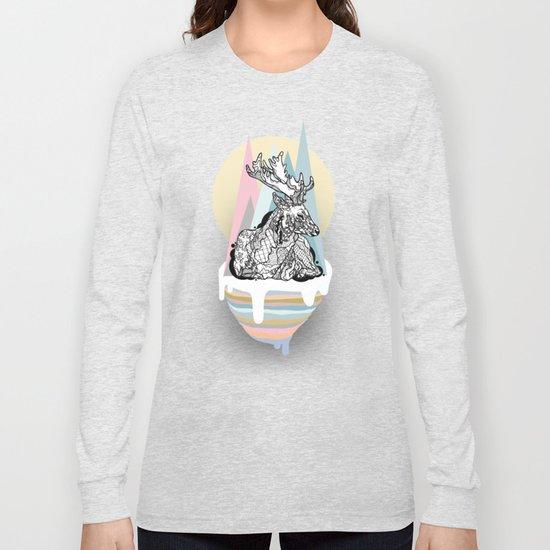 dreaming deer Long Sleeve T-shirt