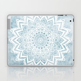 LIGHT BLUE MANDALA SAVANAH Laptop & iPad Skin