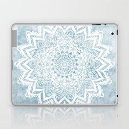 LIGHT BLUE MANDALA SAVANAH Laptop & iPad Skin