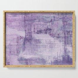 Dreamscape in Purple Serving Tray