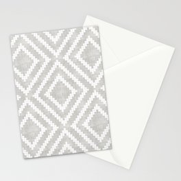 Loom in Grey Stationery Cards