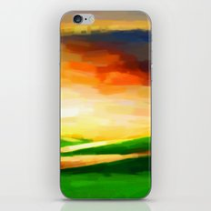 Colorful Sky - Painting Style iPhone & iPod Skin