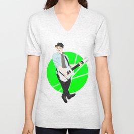 gotta love that guitar  Unisex V-Neck