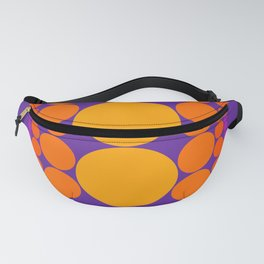 Purple Dots Fanny Pack