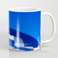 planet Mugs featuring The Blue Planet by Sandra Ireland Images