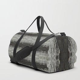 Oak Tree Bark Horizontal Nature Pattern by Debra Cortese Designs Duffle Bag