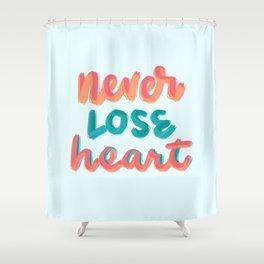 2 Cor 4:16 Shower Curtain