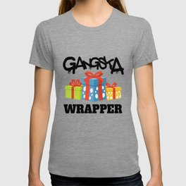 Pun HipHop Christmas gifts Gangster T-shirt