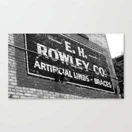 Rowley Canvas Print