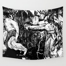 Three Disappear Wall Tapestry