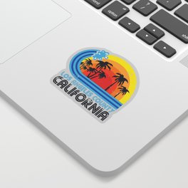 Los Angeles California Vintage Sticker