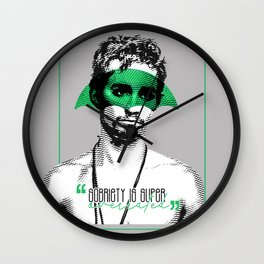 The Umbrella Academy - Sobriety is super overrated Wall Clock