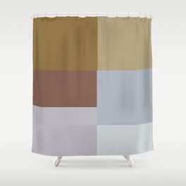 Earth Colors  Shower Curtain