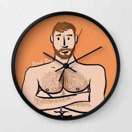 Beard Boy: Colby Wall Clock