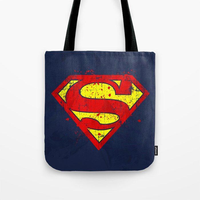 Super Man's Splash Tote Bag
