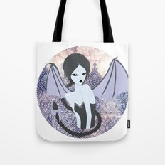 demon girl II Tote Bag