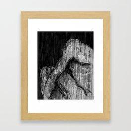 Gotas que caen I Framed Art Print