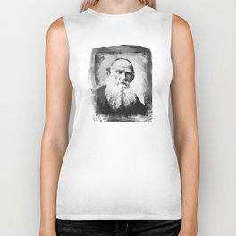 Leo Tolstoy Biker Tank