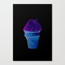 lemon icecream Canvas Print