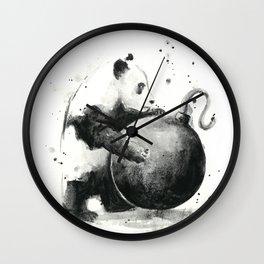 Panda Boom Wall Clock