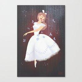 Swoosh Canvas Print