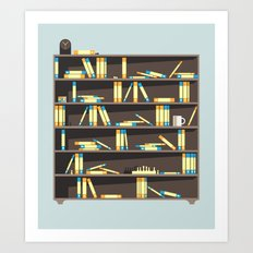 Organised Chaos Art Print