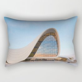 Zaha HADID   architect   Heydar Aliyev Center Rectangular Pillow