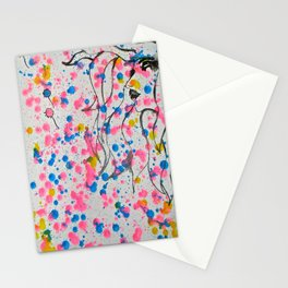 Blowing Dandelions  Stationery Cards