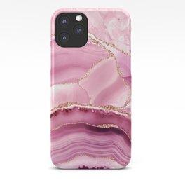 Pink Mermaid Marble  iPhone Case