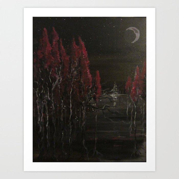 Beneath Me Art Print